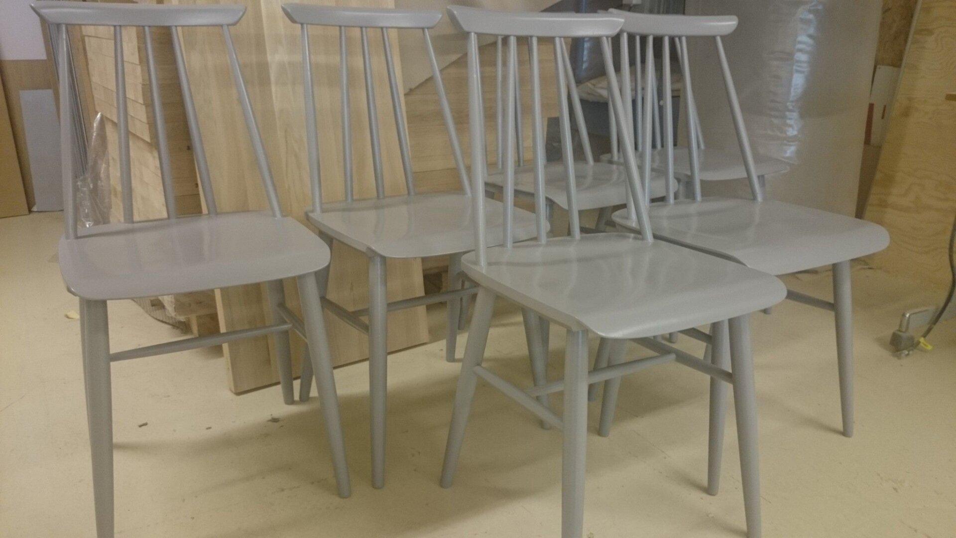 07fd7e47 Med et grundig forarbeid kan gamle og slitte overflater bli som ny, og man  kan puste nytt liv i møbler som trenger renovering.